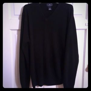Black Dockers v-neck sweater